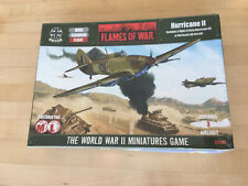 Flames of War British Hurricane II Flight AC001 Battlefront NIB