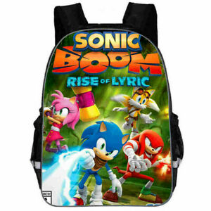"Hot 16"" FOR Sonic The Hedgehog Backpack Student Rucksack School Bag Kids Gift UK"