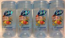 4 Secret Pasion de Tango Gel Antiperspirant Deodorant Exp. 2019