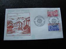 ANDORRE (francais) - enveloppe 1er jour 5/5/1990 (europa) (cy63) andorra (A)