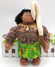 "2016 Disney Authentic Moana Maui stuffed plush toy doll 9""new"