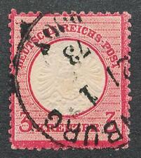 GERMANY 23 USED, VF 3 KR, ROSE, LARGE SHIELD