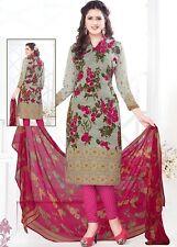 Elegant Crepe Designer Printed Unstitched Dress Material Suit D.No VM1763