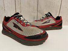 Altra Instinct 3.5 Innerflex Abound Running Shoes Men's Size 9 Red Black Silver