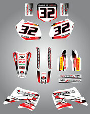 Honda CR 125 - 1998 / 1999 Full Graphic kit Storm Style Stickers Graphics