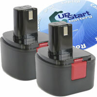 2X Battery for Lincoln Model # 1201 - 1300mAh, NICD, 12V
