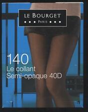 NEUF LE BOURGET 140 LE COLLANT SEMI OPAQUE 40D NOIR TAILLE 3 POINTES RENFORCEES