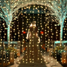 3M*2M Waterproof LED Curtain String Fairy Light Party Backdrops Indoor Outdoor