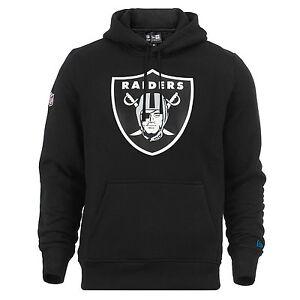 New Era NFL Hoodie Las Vegas Raiders Logo Kapuzenpullover Schwarz Shirt SALE