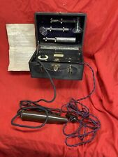 More details for vintage violet ray machine medical  3 wands and instructions boxed