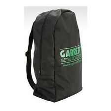 Garrett Metal Detector Black Nylon Backpack