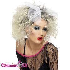 80s Wild Child Madonna Wig Material Girl Wigs 1980s Pop Star Costume Accessories
