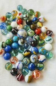 Mixed marbles lot