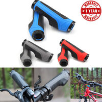 Bike Grips Mountain Bicycle MTB BMX Handlebar Ergonomic Double Lock On Hand-Grip