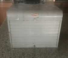 Vintage Brumberger Roll Top Metal Case