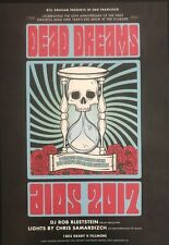 Dead Dreams New Year's Eve Fillmore Poster Near Mint Condition 2017