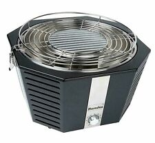 Portable Fan Assisted BBQ Grill Picnic Camping Outdoor Charcoal Barbecue Berndes