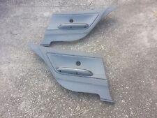 BMW E46 M3 Grey leather rear panels 2DR coupe 323ci 325ci 328ci 330ci w/ armrest