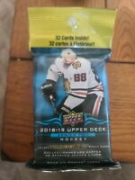 2018/19 Upper Deck Hockey Series 2 Factory Sealed Fat Pack - Young Guns Rookies