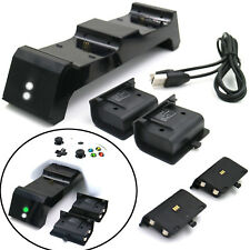 Dual Charging Dock 2 Battery Pack Stand for Xbox One / One S / Elite Controller