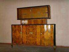Mobile Chippendale anni '40 credenza - buffet - dispensa - sideboard con vetri