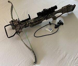 Excalibur Matrix 350se Crossbow Dead-Zone Scope Package Mossy Oak TreeStand Camo