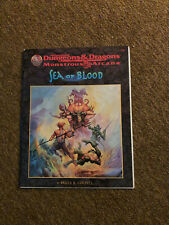 AD&D / D&D / Advanced Dungeons & Dragons  - Sea of Blood - TSR 9560 Adventure