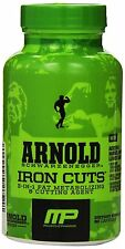 Muscle Pharm Arnold Schwarzenegger IRON CUTS - 90 Capsules   Free Shipping!