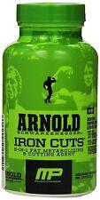 Muscle Pharm Arnold Schwarzenegger IRON CUTS - 90 Capsules   Free Shipping!