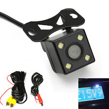 4led HD Car Rear View Camera Reversing Parking Cam Night Vision Waterproof