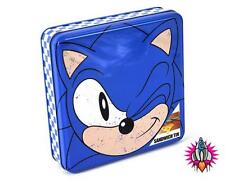 NEW OFFICIAL SEGA SONIC THE HEDGEHOG SANDWICH STORAGE TIN BOX