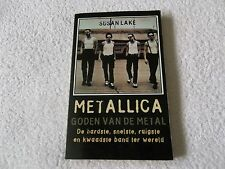 Rare Dutch Book, METALLICA, GODEN VAN DE METAL (GODS OF METAL) - Suasn Lake 1996