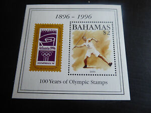 BAHAMAS  1996 SG MS1083  CENT OF MODERN OLYMPIC GAMES MNH