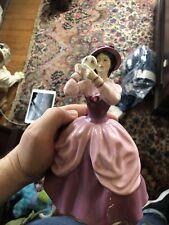 "Beautiful 1973 Royal Doulton Lady Pamela 8"" Figurine Hn 2718 - Made in England"
