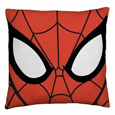 SPIDERMAN ABSTRACT REVERSIBLE FILLED CUSHION WOOHOO KIDS BOYS