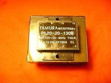 Tamura Microtran PL20-20-130B Power-Transformers XFRMR LAMINATED 20VA THRU HOLE