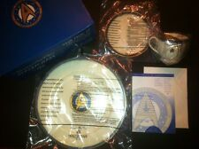 Pfaltzgraff Star Trek 6-3 Piece Fine Bone China Plate Set Ncc-1701A , Like Prop