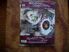 Bucilla Silk Ribbon Embroidery I Love You Picture Frames