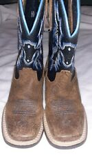 Ariat Boys Western Toddler Boots Cowboy Blue 10