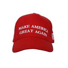 Trump President Make America Great Again MAGA Baseball Cap Hat RED Flag Classic