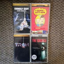 Lot of 4 PSP UMD Video Movies Beavis Tron Animated NEW Family Guy The Grudge