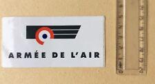 Autocollant Militaire Armée De L'air Fond Blanc Année 70/80
