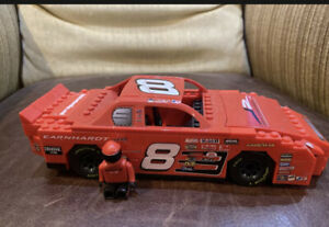 Dale Earnhardt Jr.# 8 Lego Nascar Racing With Driver - Impeccable Condition!