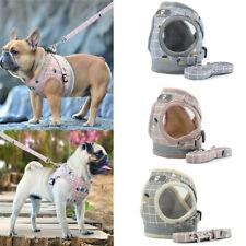 Nylon Mesh Pet Dog Harness and Leash Set Reflective Puppy Vest Jacket XS S M L