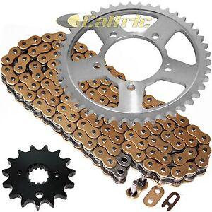 Golden O-Ring Drive Chain & Sprockets Kit for Suzuki GSX750F Katana 750 1998-06