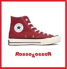 Scarpe Converse All Star alte in tela rosse 144754c N°44 5 29cm