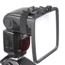 Flash Reflector Diffuser Kit For Samsung Nikon Canon Pentax Olympus Sony Fuji