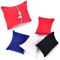 5pcs Watch Bracelet Jewelry Display Pillow Cushion Holder Organizer Showcase IO