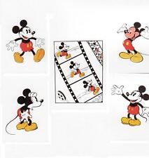 Mickey Mouse Set of Five Color Super Collectable/Rare Disney Serigraph was$700
