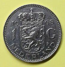 Olanda Holland Nederland 1 Gulden 1968